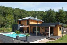 Myotte Duquet architecture bois, reportage construction maisons ossature bois - Esprit Zen