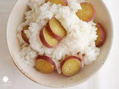 薩摩芋蒸飯 ☞ 新炊米 ✎ 薩摩芋