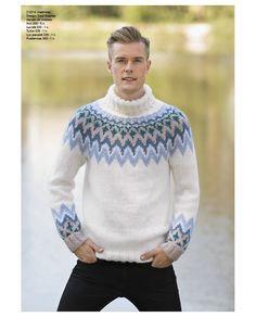 Nordic Sweater, Men Sweater, Knit Shirt, Sweater Weather, Knitwear, Turtle Neck, Mens Fashion, Wool, Knitting