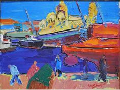 "Pierre AMBROGIANI - La Peinture et la Provence ""La Joliette Marseille"""