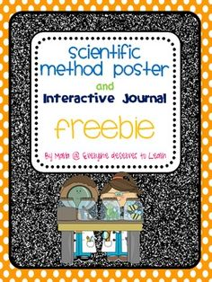 Scientific Method Poster and Interactive Journal Freebie