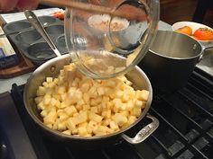 Angela's Kitchen: Nicole & Anne's Kitchen: Apple Croustades #cooking #apples #dessert #fall #autumn #phyllo #kitchen #vanilla