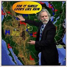 bob weir looks like rain