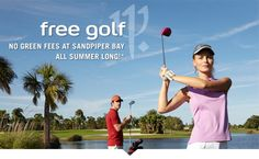 #ClubMed #free #golf http://www.gobooktrips.com Golf #Getaways this summer are even better at Club Med #Sandpiper Bay, with #complimentary #green #fees* for 18+ and free #lessons for all ages at this incredible #allinclusive #premium #riverside #resort in the heart of sunny #Florida.