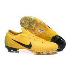fc5e249a28e53 Botas De Futbol Nike Mercurial Vapor XII 360 Elite FG Amarillo Negro Verde