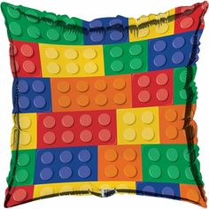 Block Party Mylar Balloons 10 ct