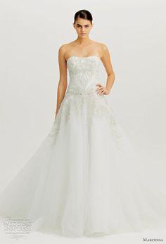 Marchesa Fall 2012 Wedding Dresses   Wedding Inspirasi