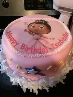 Super why PRINCESS PRESTO birthday party centerpiece