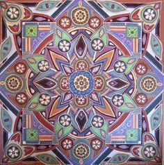 Mandala art Lize Beekman