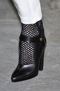 Best shoes - Structured ankle straps at Alexander Wang - Fall 2012