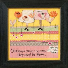 Wichelt Imports, Inc. Old Friends Counted Cross-Stitch Kit Was: $18.99                     Now: $13.29