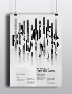 RAMONES Poster by Isabel Sedano, via Behance