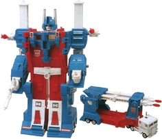 Ultra Magnus (1986) - my sister got me this for my sixth or seventh birthday. Probably the coolest Transformer toy I ever owned.