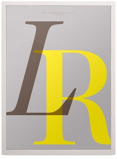 Playtype: I Love Typography Poster Collection via designworklife