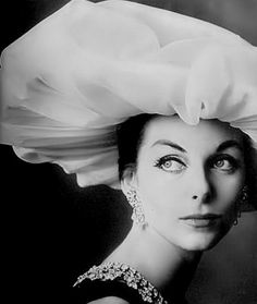 Hat by Sally Victor, photo by Irving Penn 1957
