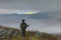 Reproduction tableau de Theodor Kittelsen, Far, far away Soria Moria Palace shimmered like Gold, 1900 Theodore Kittelsen, East Of The Sun, Google Art Project, Gold Art, Art Reproductions, Far Away, Art Google, Beautiful World, Les Oeuvres