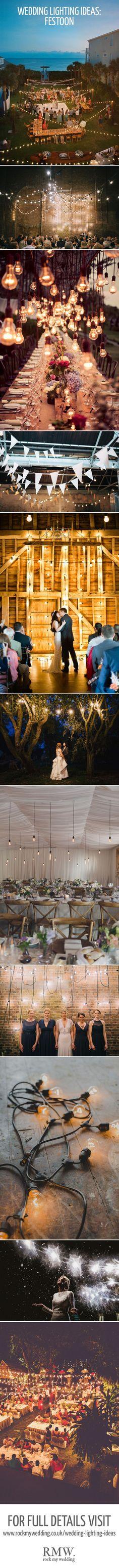 backyard wedding lighting best photos - backyard wedding  - cuteweddingideas.com