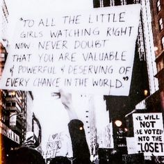 Message to my girls and all the girls around the world!