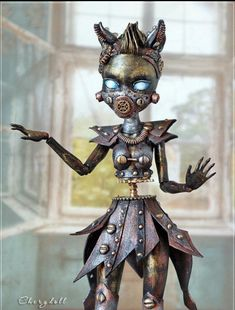Reserved for Ksenia /Steampunk Monster High doll Custom OOAK repaint Custom Monster High Dolls, Monster Dolls, Monster High Repaint, Custom Dolls, Monster High Doll Clothes, Monster High Birthday, Monster High Party, Steam Punk, Personajes Monster High