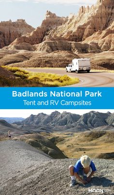 Whether you're looking to rough it in a tent or relax in an RV, these spots are great options for camping in Badlands National Park or the towns nearby. #nationalparks #outdoors #southdakota