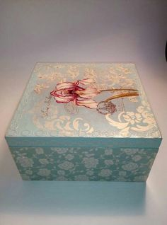 1000+ ideas about Decoupage Box on Pinterest   Decoupage, Box and ...