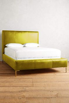 Premium Leather Edlyn Bed - anthropologie.com