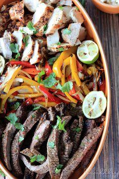 Grilled Fajita Skirt Steak