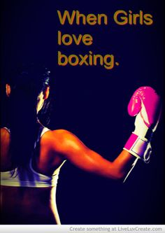 boxing quotes for girls - Google Search