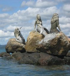 Mermaids on Daydream Island (actual place)
