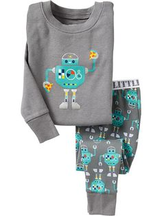 And I was just looking for robot with pizza pajamas!