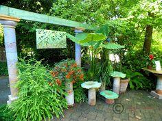 Garden Design Ideas: Little and Lewis Concrete Garden Artist