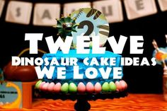 12 Dinosaur Birthday Cake Ideas We Love