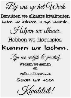 Afbeeldingsresultaat voor tekst respect collega s Work Quotes, Life Quotes, Qoutes, Funky Quotes, Manager Quotes, Dutch Words, Positive Inspiration, Beautiful Words, Quote Of The Day