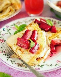 Puszysty sernik śmietankowy Waffles, Grilling, Breakfast, Ethnic Recipes, Makeup, Food, Morning Coffee, Make Up, Meal