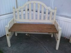 upcycled bed frame
