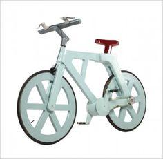 """""""Ein Fahrrad, das komplett aus Pappe besteht, hat jetzt ein israelische Erfinder entwickelt. Das ist wirklich eine innovative Idee. Ein Fahrrad, das nur 9 Dollar kostet, ist fast für jeden erschwinglich."""