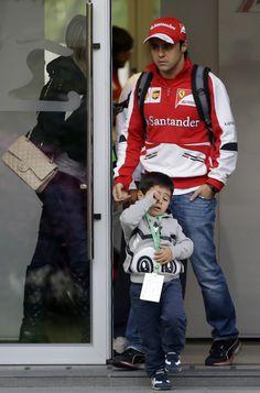 Felipino and Felipe Massa Shanghai