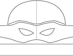 molde mascara tartaruga ninja