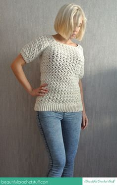 Beautiful Crochet Stuff Sweater By Jane (Beautiful Crochet Stuff) - Free Crochet Pattern - (ravelry)
