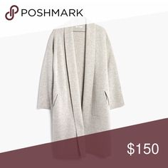 Madewell Rivington sweater-coat size S Madewell rivington sweatercoat in size small. NWT. Never been worn - bought a small and XS and the XS fits me better. Madewell Sweaters Cardigans