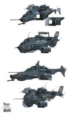 ArtStation - aircraft, Mark Sanwel