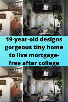 19-year-old #designs gorgeous #tiny home to live #mortgage-free after #college