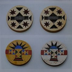 Two pairs of earplugs (iziqhaza) Zulu South Africa century wood vinyl asbestos glue and panel pins diam. Wood Vinyl, African Diaspora, African Jewelry, Travel Design, Tribal Art, African Art, Continents, Night Life, South Africa