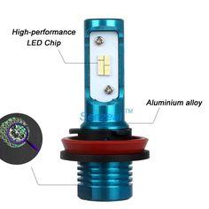 Amazon.com: Senzeal 2x 80W 1200LM 9005 9006 Universal LED Low Beam Headlights 6000K HB3 9145 H10 9140 Auto Car Fog Lights HB4 LED Daytime Running Lamps: Automotive