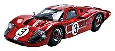 1967 Ford GT MK IV #3 Brown LeMans 24 Hours M.Andretti / L.Bianchi 1/18 by Shelby Collectibles SC425 - Diecast Model Cars