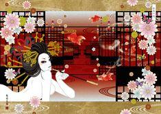 金魚の間 / Illustration bAbycAt