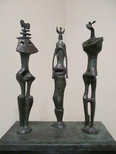 Henry Moore: Three Standing Figures, 1953