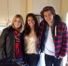 Gemma, Anne and Harry! Such a good looking family.