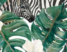 """Check out new work on my @Behance portfolio: """"Tropical Zebra patterns"""" http://be.net/gallery/58601193/Tropical-Zebra-patterns"""