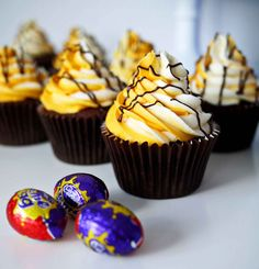 Taming Twins | Food, family and being more than just Mum | 5 Top Tips for the Best Cadburys Creme Egg Cupcakes | http://www.tamingtwins.com